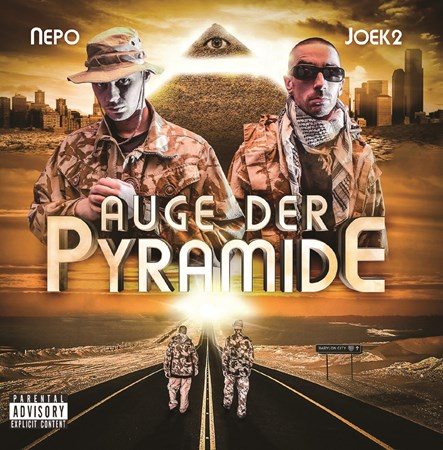 "Picture of Joek2 & Nepo ""Auge der Pyramide"""