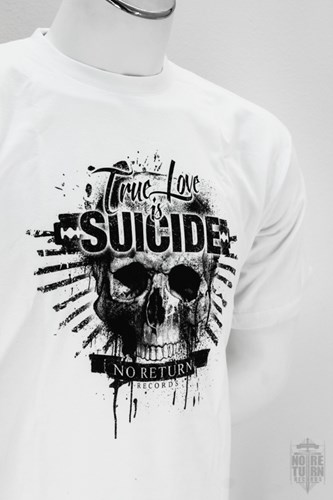 Bild von TRUE LOVE IS SUICIDE - SHIRT, Bild 3