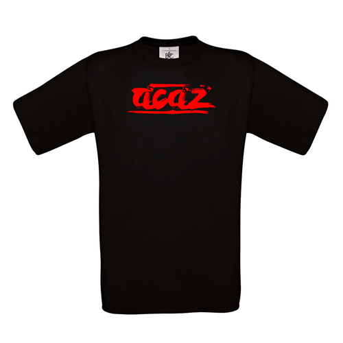 "Acaz ""Brush Logo"" Shirt [schwarz]"