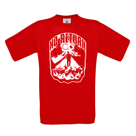 Bild von NO RETURN - SHIRT (rot)
