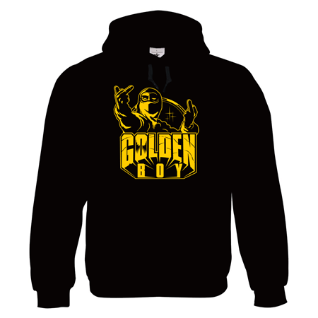 Picture of GOLDEN BOY - HOODY (schwarz)