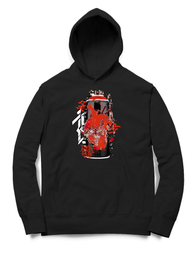 Picture of GRAFFITI CAN - HOODY (schwarz), Picture 1